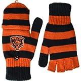 FOCO NFL Chicago Bears Knit Flip Top Gloveknit Flip Top Glove