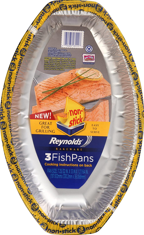 Reynolds Non-Stick Fish Pan, 3 ct