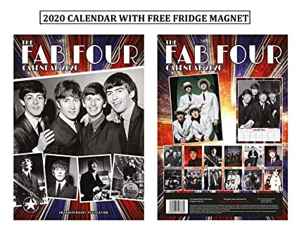 The Beatles Calendario 2020 + imán para nevera de The Beatles ...