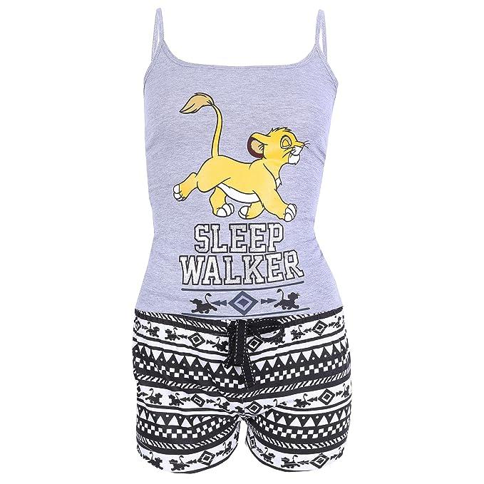 5b0152fda Pijama Negro Gris el Rey León Disney - Small