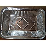 Silver Foil Container for food packaging Pack of 100