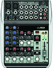 Behringer Premium 10 Input 2 Bus Mixer with XENYX Mic Preamps/Compressors/British EQs and USB/Audio Interface