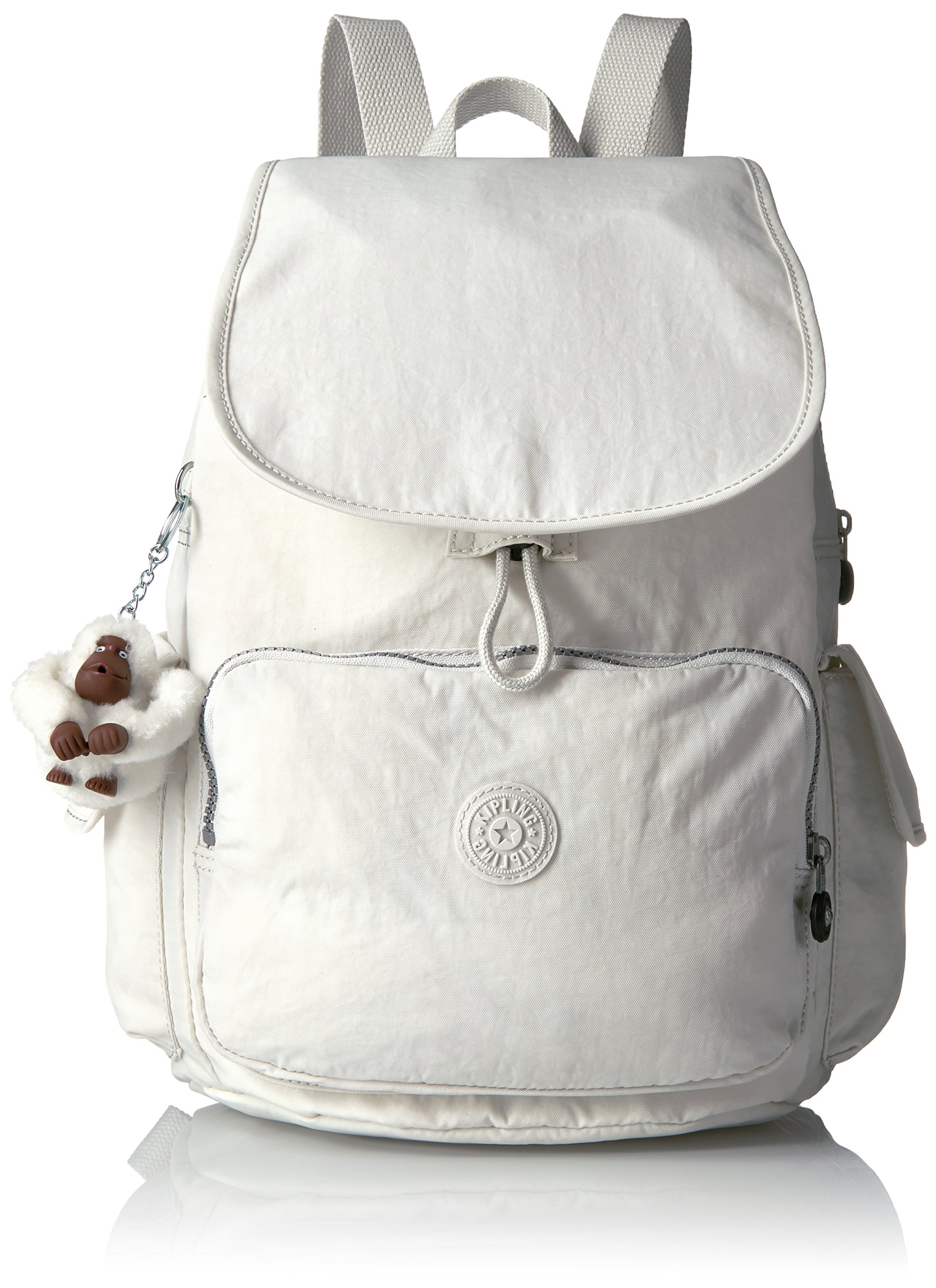 Kipling Women's Ravier Solid Backpack, Frosted