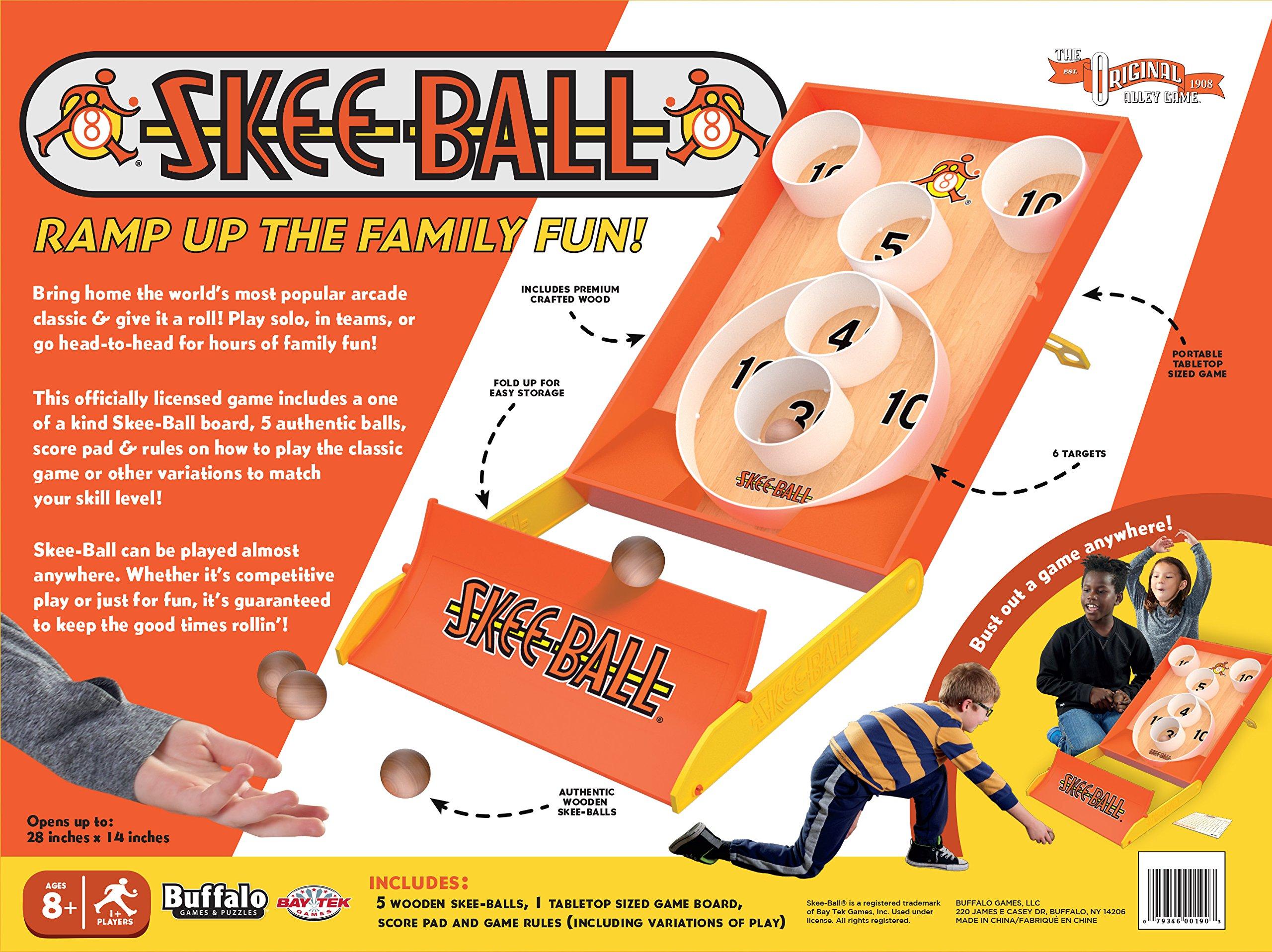 Buffalo Games Arcade Style Skee-Ball, Multicolor by Buffalo Games (Image #2)