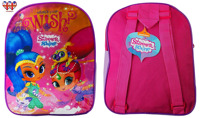 Backpack Shimmer and Shine Backpack Official Licensed Children 28cm//11