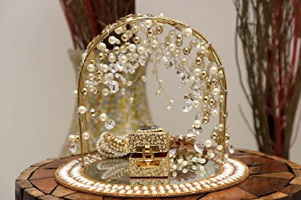 Buy Giftingbestwishes Wedding Tray Decorative Tray Engagement Ring