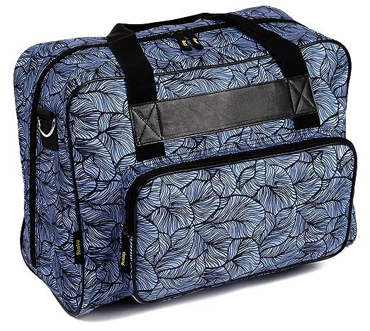 Kenley - Bolso para máquina de coser - Bolso de almacenamiento universal, bolso de transporte con acolchado - Compatible con Singer, Brother o Toyota: ...