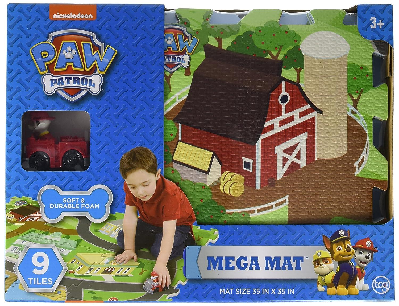 Paw Patrol Foam Tile Mat Playmat, Paw Patrol Longshore Toys 67504