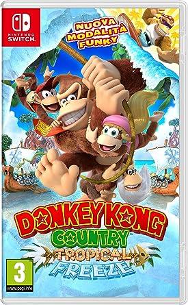 Donkey Kong Country: Tropical Freeze - Nintendo Switch [Importación italiana]: Amazon.es: Videojuegos