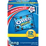 Oreo Mini Chocolate Sandwich Cookies, 1 Ounce (Pack of 12)