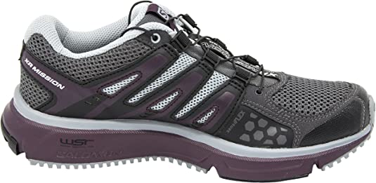Salomon Womens XR Mission Trail Running Shoe (10 B(M) US, Magnent/Black/Purple): Amazon.es: Zapatos y complementos