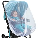 BABY MOSQUITO NET For Stroller, Car Seat & Bassinet – PREMIUM Infant Bug Protection For Jogger, Carrier & Pack N Play – Toddler Insect Shield Canopy & Gift Packaging