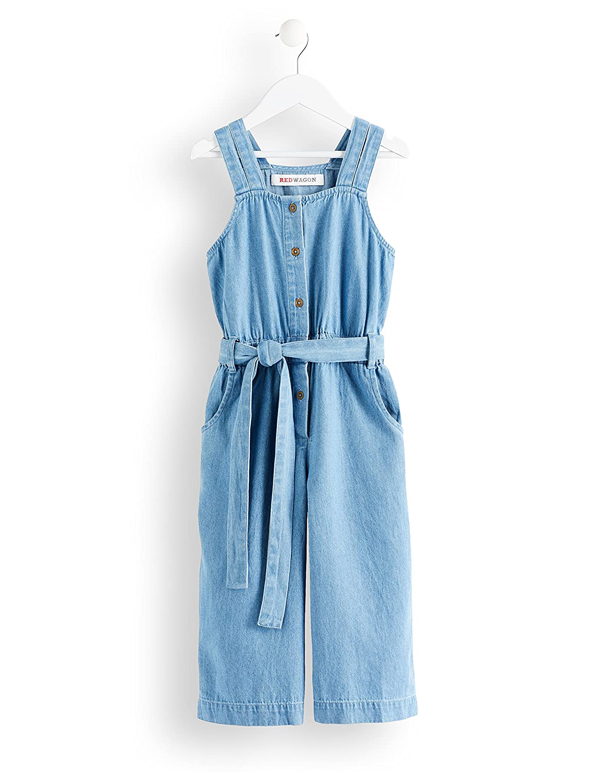 RED WAGON Tuta Modello Salopette in Chambray Bambina PI-AM-SS-18-06C