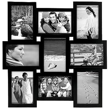 malden international designs home profiles puzzle collage picture frame 9 option 9 4x6