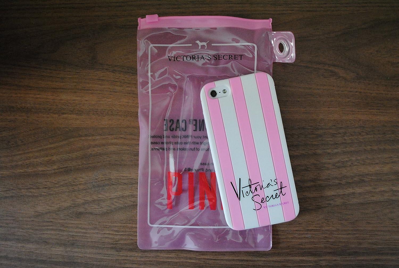 Victorias Secret Striped iPhone 5 & iPhone 6 Case Cover Silicone Rubber Apple iPhone Case Pink (iPhone 6), [Importado de UK]: Amazon.es: Electrónica