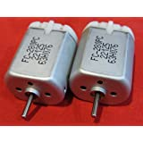2 Pack - 10mm ROUND SHAFT FC-280PC-22125 Central Door Lock Actuator Motor, ROUND SHAFT, Circle Spindle, Power Locking…