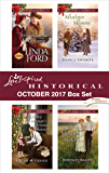 Love Inspired Historical October 2017 Box Set: Montana Bride by Christmas\Cowboy Lawman's Christmas Reunion\Mistletoe Mommy\A Mistaken Match