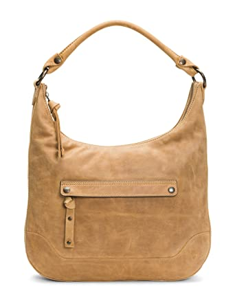 2e51462a32 Amazon.com  FRYE Melissa Zip Leather Hobo Handbag
