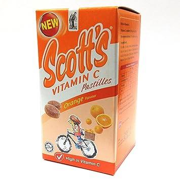 Amazon Com Ahas S 50s Pastilles Of Chewables Scotts Emulsions