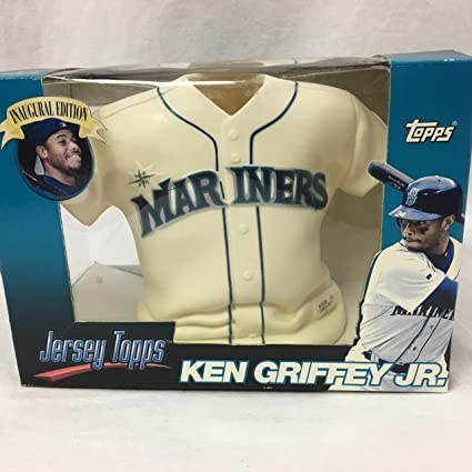 new style 65412 9e17d Amazon.com : Jersey Topps Ken Griffey Jr. Inaugural Edition ...