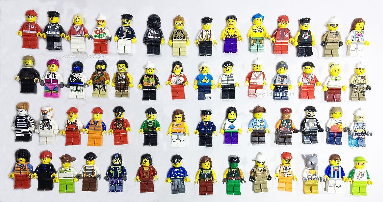 10 x Lego Mini figure blue legs Brand New mini figs crafts jewellery resale