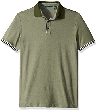 946331ce4 Perry Ellis Men's Essential End Polo at Amazon Men's Clothing store: