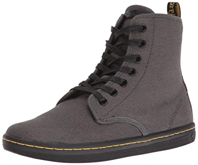 Dr. Martens Women's Shoreditch Boot, Lead, 3 UK/5 M US