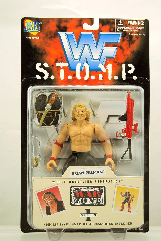 Jakks Pacific WWE 1997 STOMP Series Brian Pillman Action Figure
