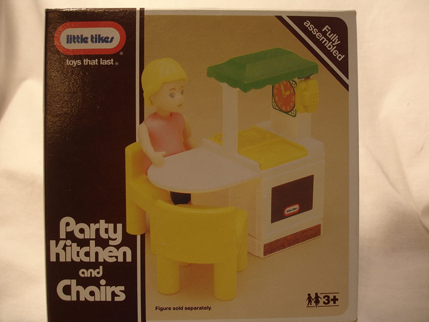 Amazon.com : Little Tikes Dollhouse Party Kitchen, Refrigerator and ...