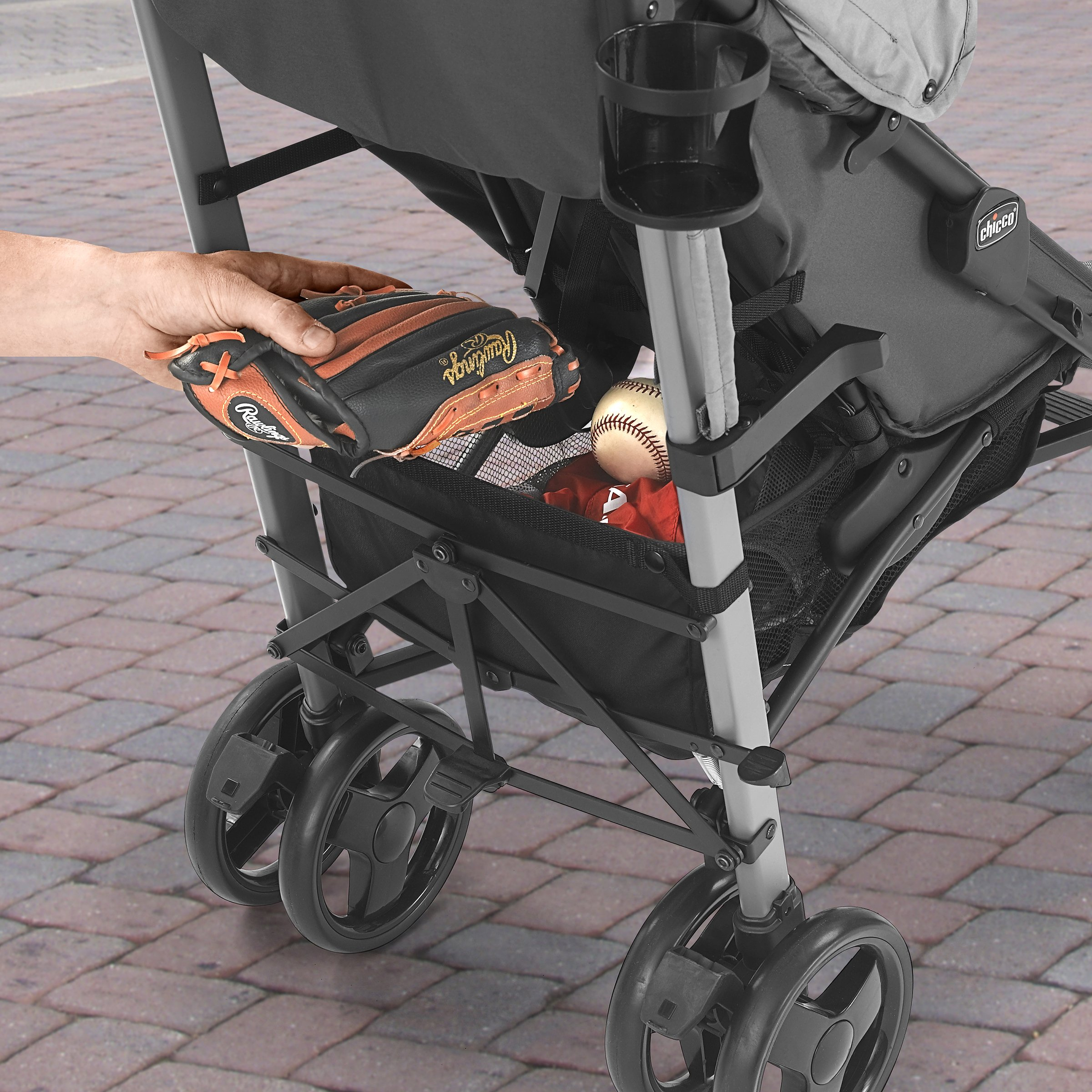 Chicco Liteway Stroller, Fog by Chicco (Image #7)