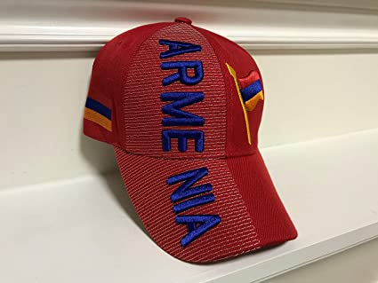 76cb1e9ca Baseball Caps Hats with Five 3D Embroideries – Countries of Europe (Country   Armenia)