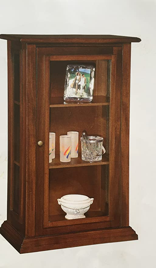 Vetrinetta arte povera 1 anta vetrina classica: Amazon.it: Casa e ...
