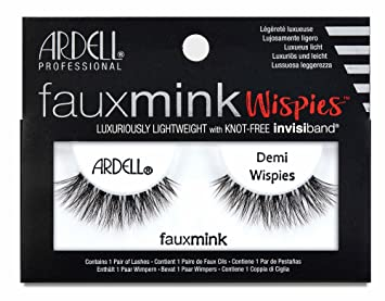 003d1236da0 Image Unavailable. Image not available for. Colour: Ardell Faux Mink Demi  Wispies