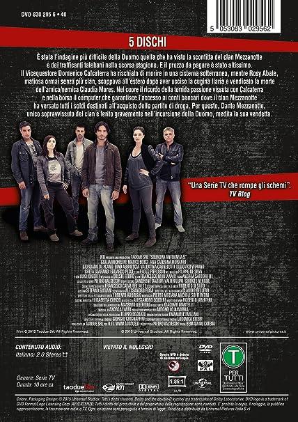 Squadra Antimafia - Stagione 05 (5 Dvd) [Italia]: Amazon.es ...