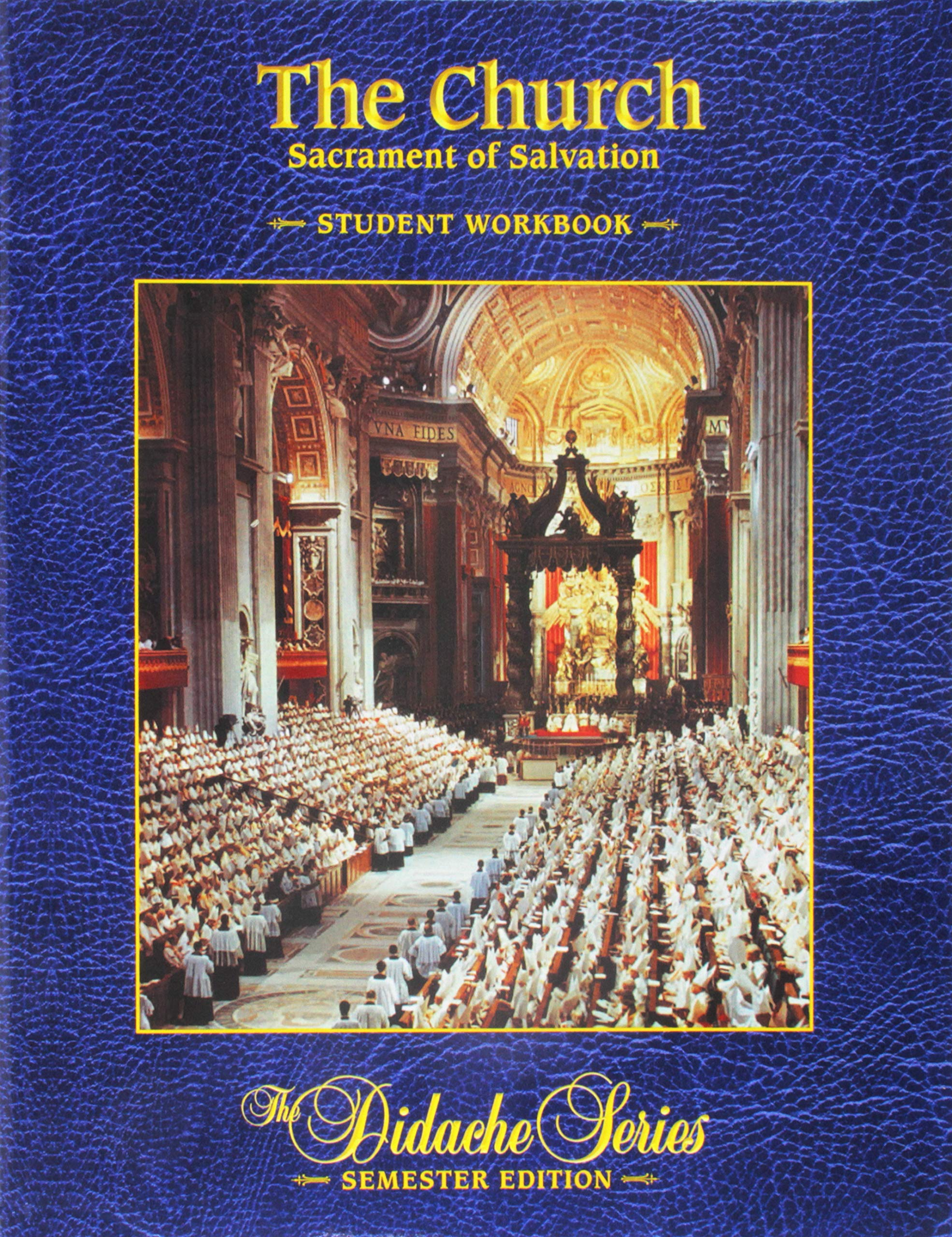 Read Online The Church: Sacrament of Salvation - Student Workbook pdf