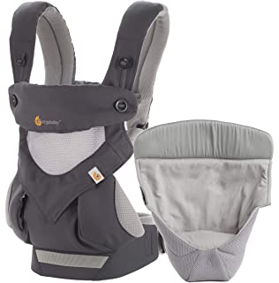 Ergobaby Adapt - Mochila portabebé, color gris: Amazon.es: Bebé