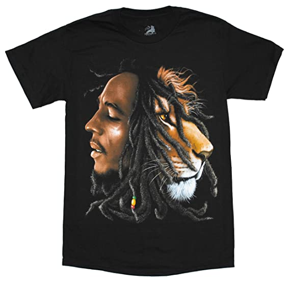 T-Shirt Lion Profile Bob Marley