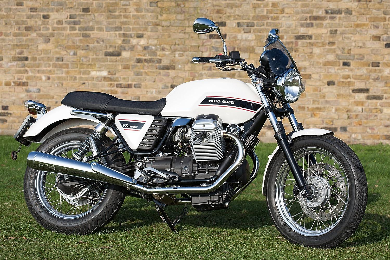 Dart Classic Motorrad Windschutzscheibe Für Moto Guzzi V7 Mk I Ii Dunkel Auto