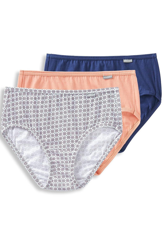 dbf1594c05 Jockey Womens Underwear Plus Size Elance Hipster - 3 Pack Christmas ...