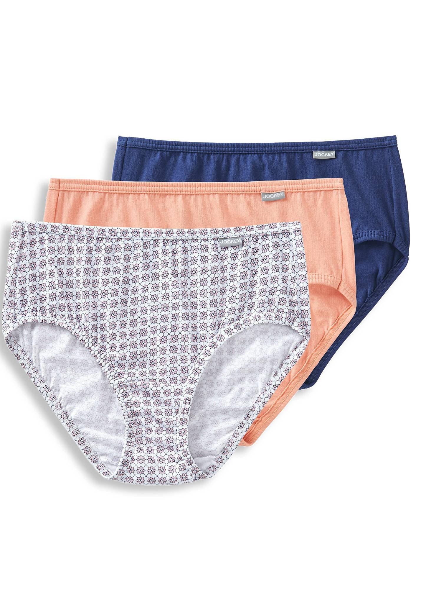 177485a20 Galleon - Jockey Women s Underwear Plus Size Elance Hipster - 3 Pack ...