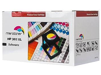 Merotoner Cartucho de Tinta Compatible para HP 302 XL, HP Deskjet ...