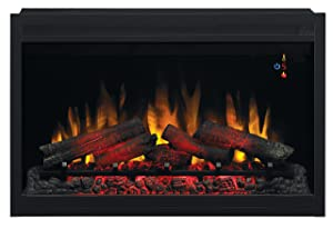 "ClassicFlame 36EB220-GRT 36"" Traditional Built-in Electric Fireplace Insert"