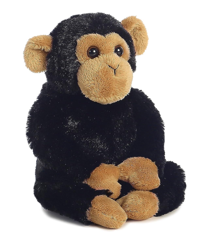 Aurora Clyde Chimp Mini Flopsie Plush Stuffed Animal 8