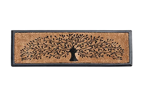 First Impressions Hand-Crafted Rubber Coir Tree Double Door Mat  sc 1 st  Amazon.com & Amazon.com : First Impressions Hand-Crafted Rubber Coir Tree Double ...