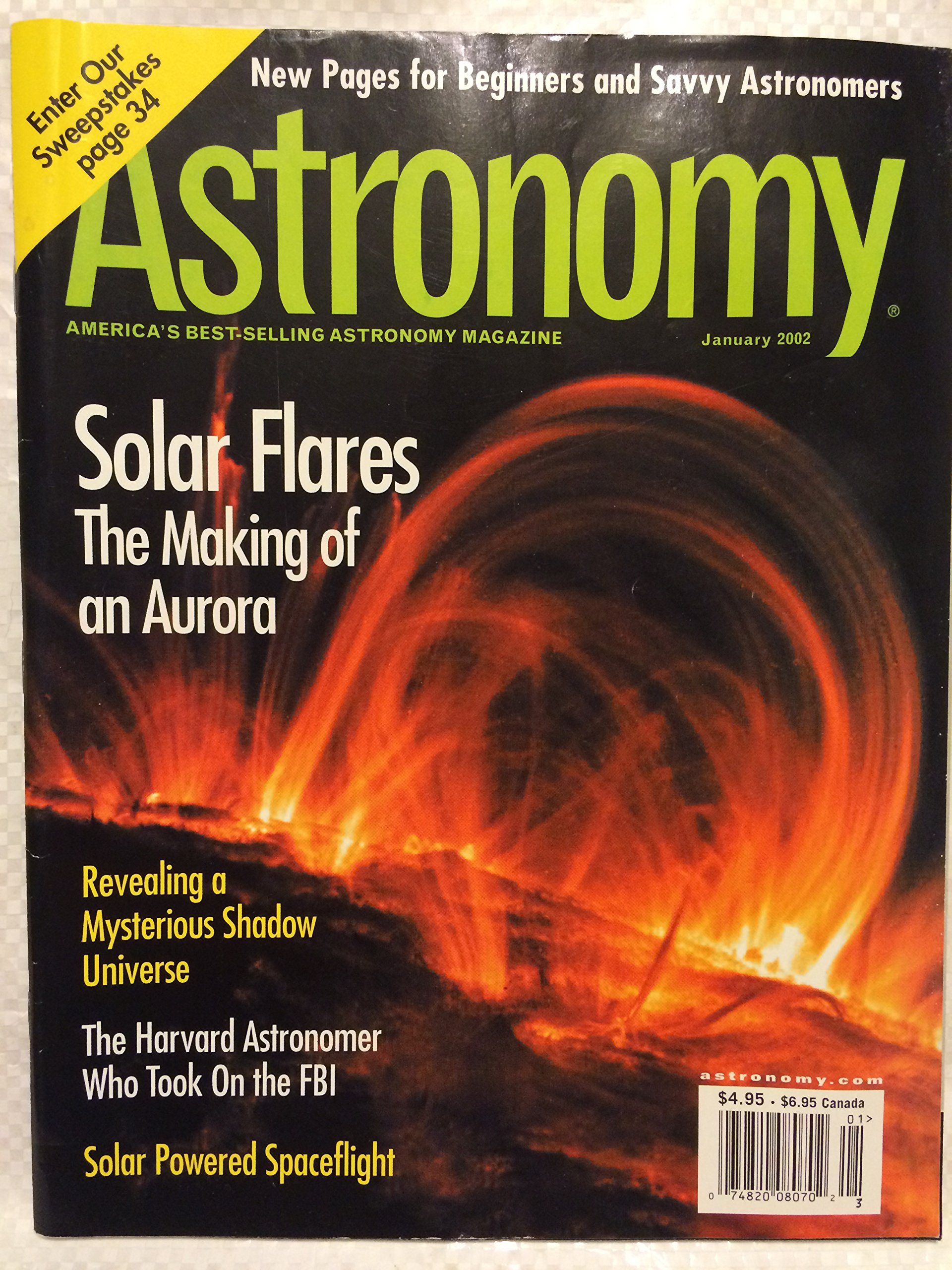 Astronomy January 2002 (Astronomy Magazine, Volume 30, No. 1) ebook