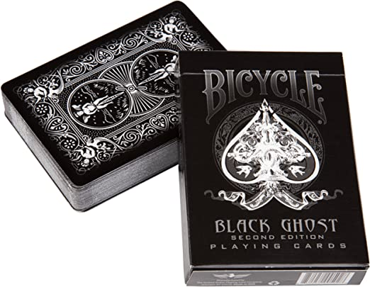 Bicycle White Ghost Air Cushion Deck USPCC seal Playing Cards