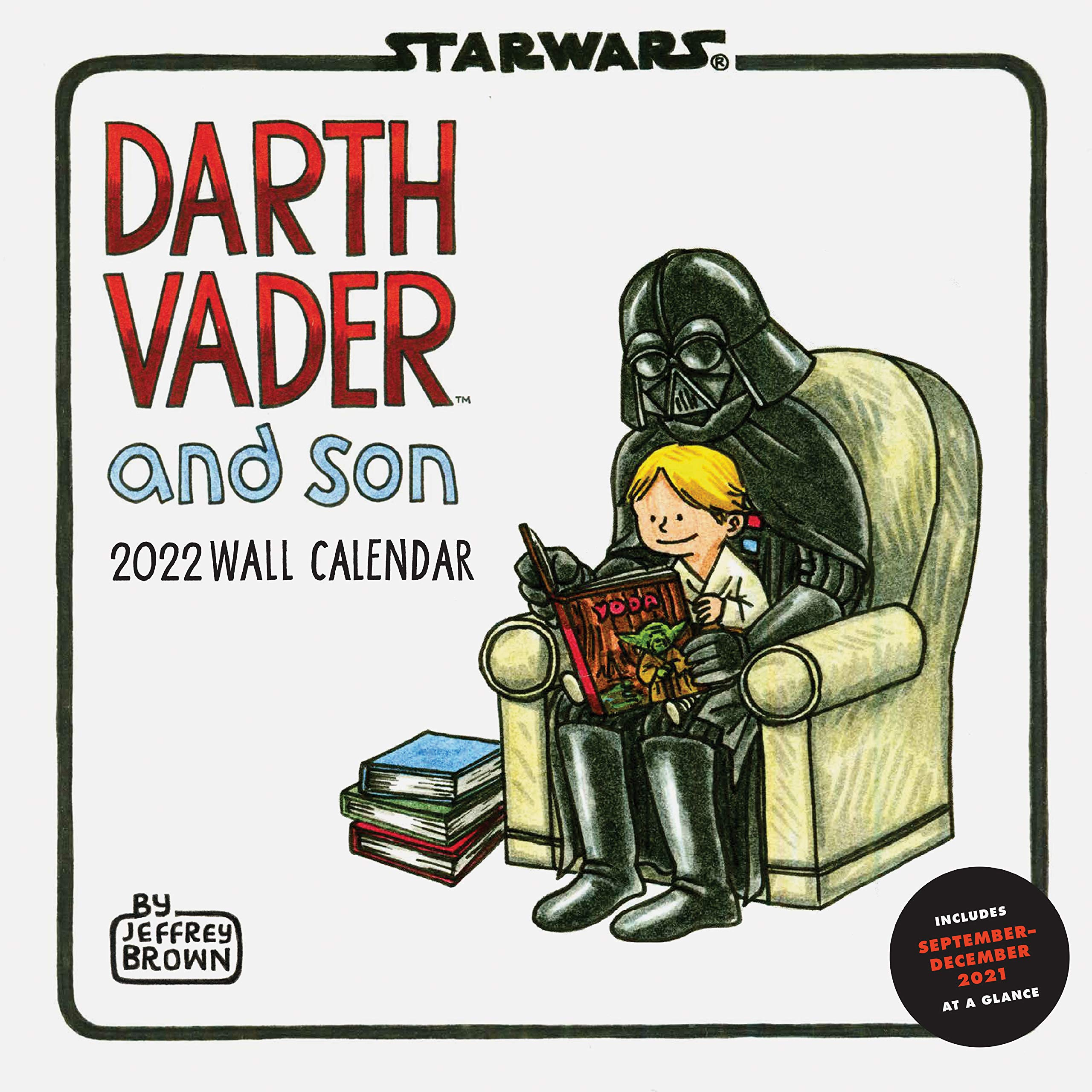 Star Wars Calendar 2022.Star Wars Darth Vader And Son 2022 Wall Calendar Brown Jeffrey Lucasfilm Ltd 9781797202877 Amazon Com Books