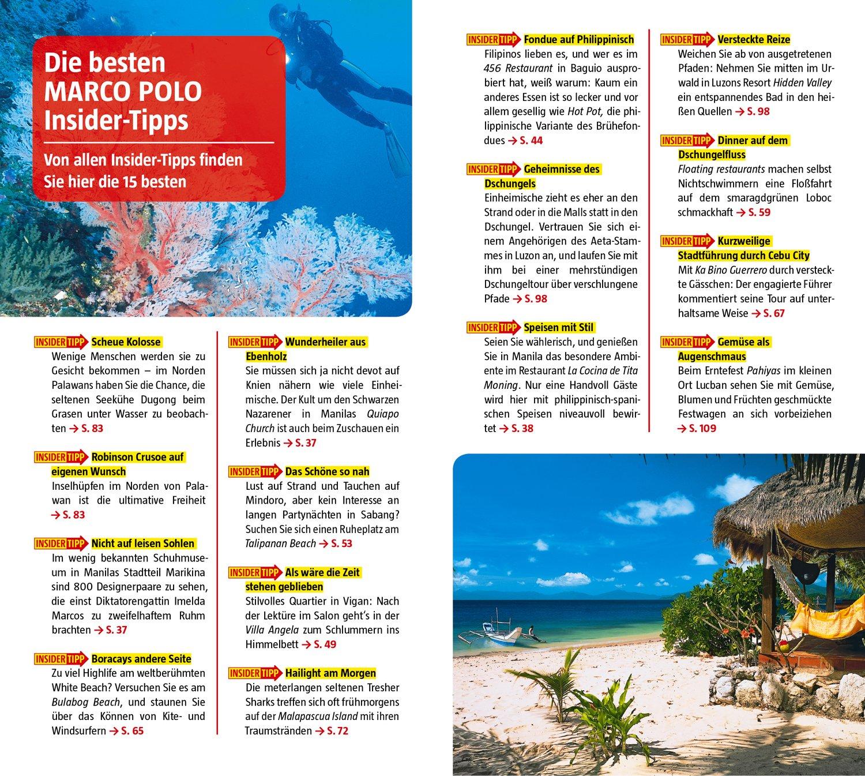 MARCO POLO Reiseführer Philippinen: Reisen mit Insider-Tipps. Mit ...