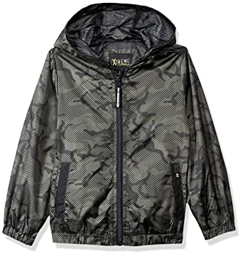 2e80c22a13edb Amazon.com: iXtreme Boys' Camo Windbreaker: Clothing