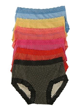 55c12f5cb3104 Pack Of 12 Ladies Mini Bikini Briefs High Leg